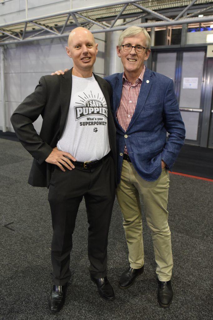 Dr Mark Kelman and Dr Robert Johnson